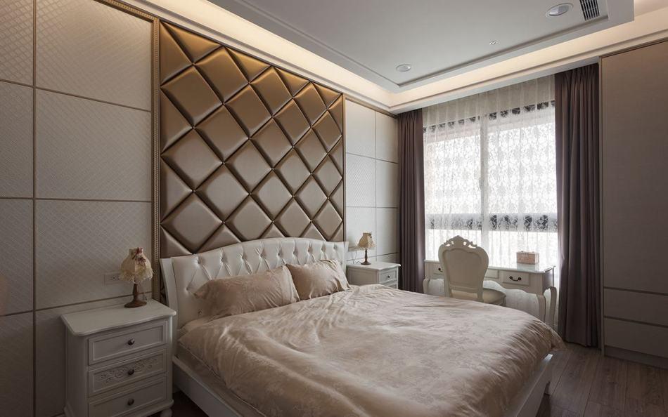 古典奢华主卧室图片