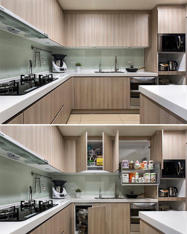 美式风格厨房装修图片