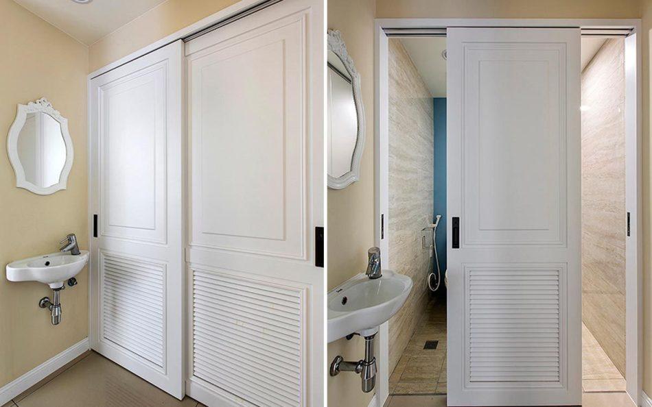 美式风格卫浴装修图片