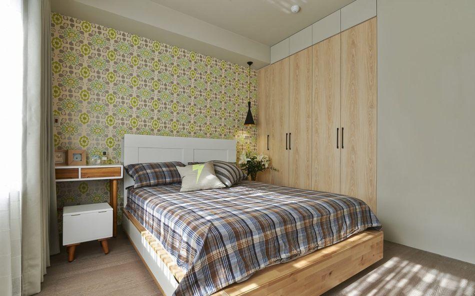 现代风格主卧房装修图片