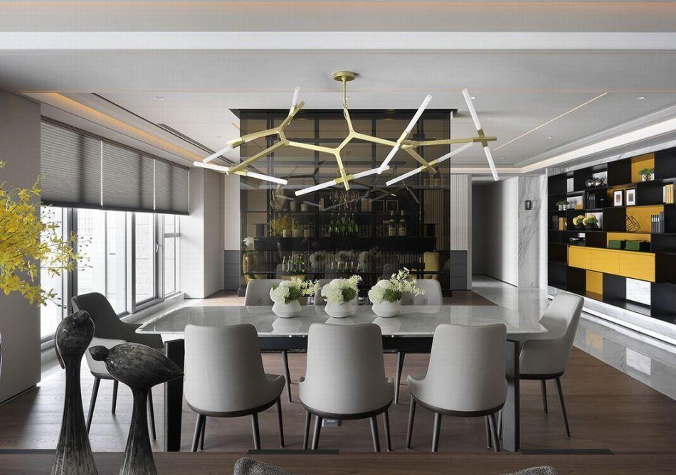 现代风格餐厅装修案例