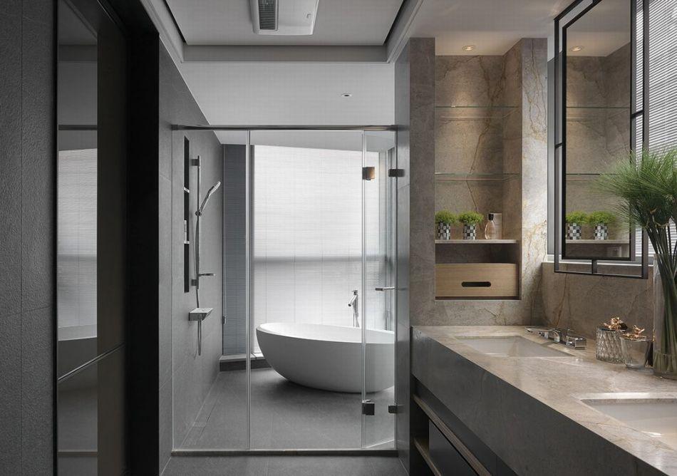 现代风格精品卫浴装修案例