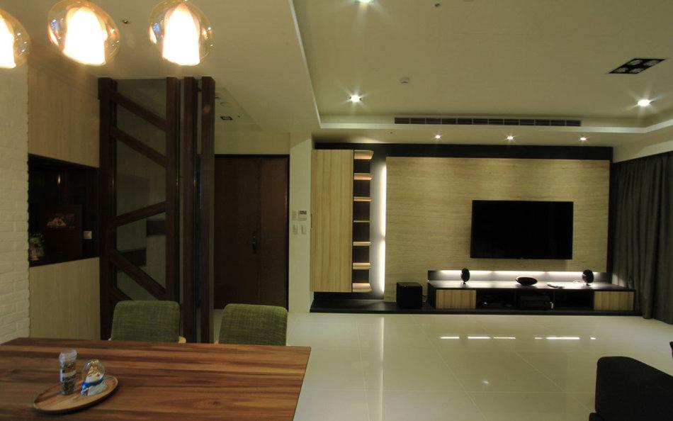现代风格电视主墙设计效果图