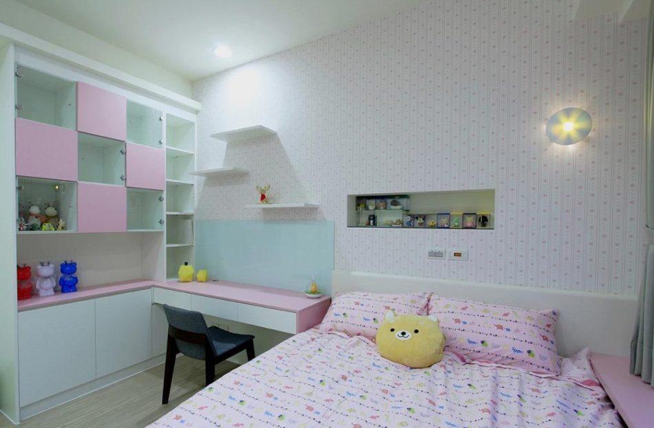 现代风格小孩房效果图