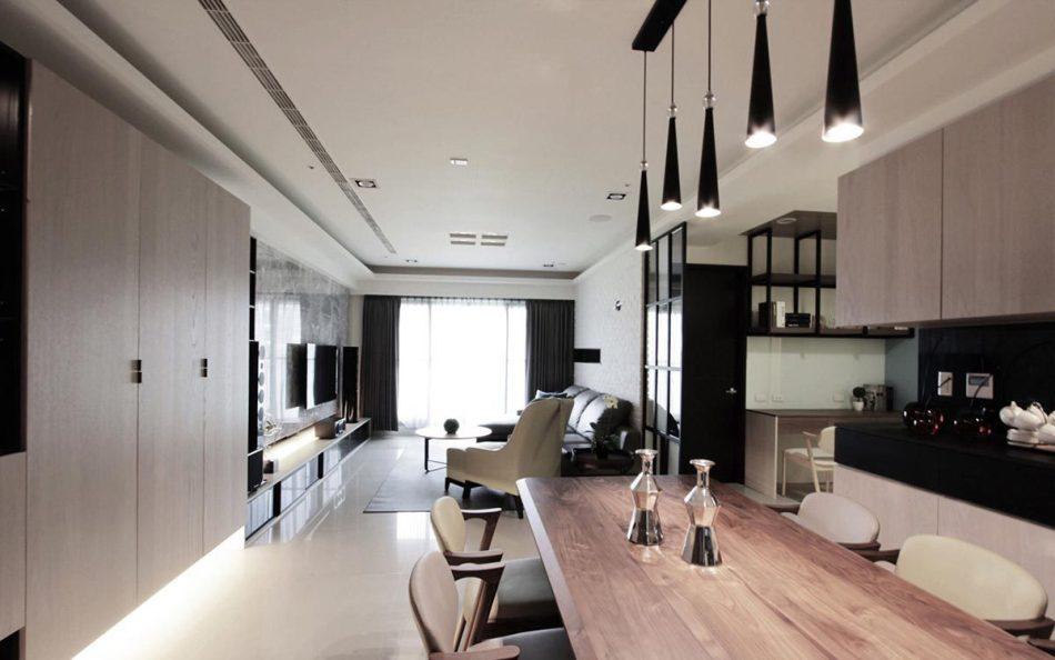 现代人文风格餐厅图片