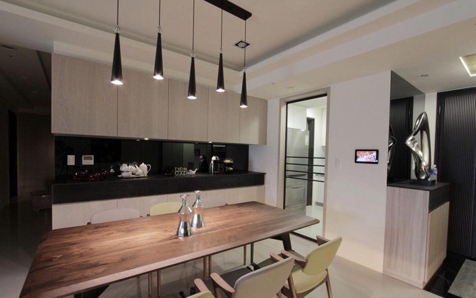 现代人文风格厨房图片