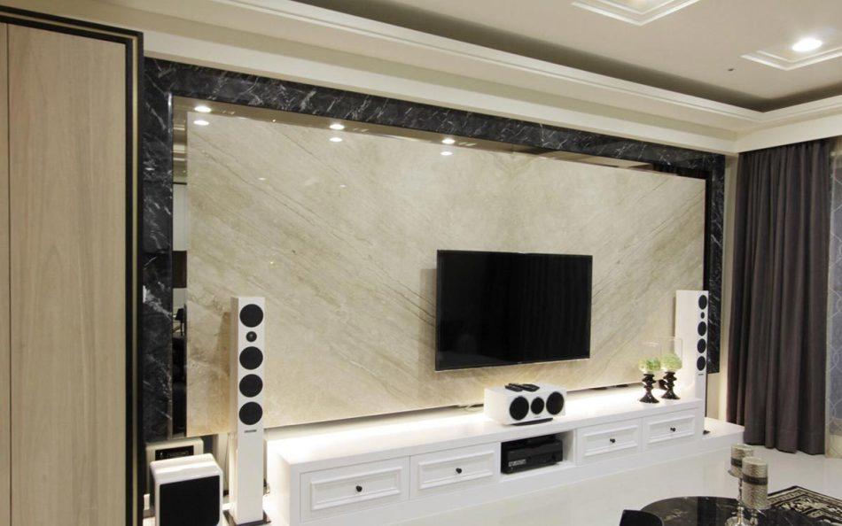 古典风格电视墙装修案例