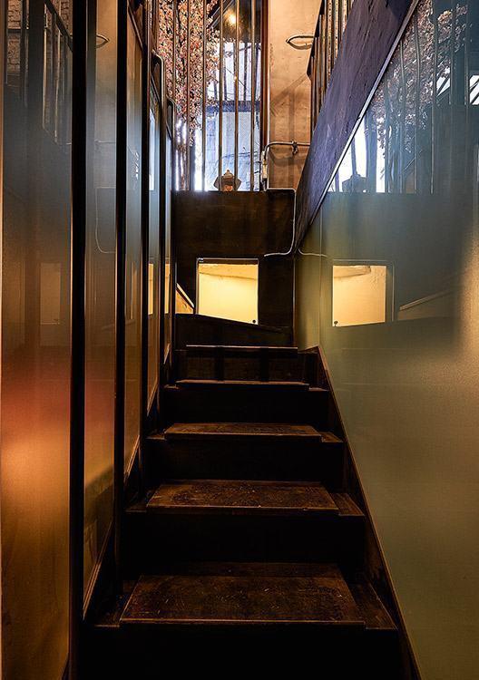 工业风格梯间设计装修图片