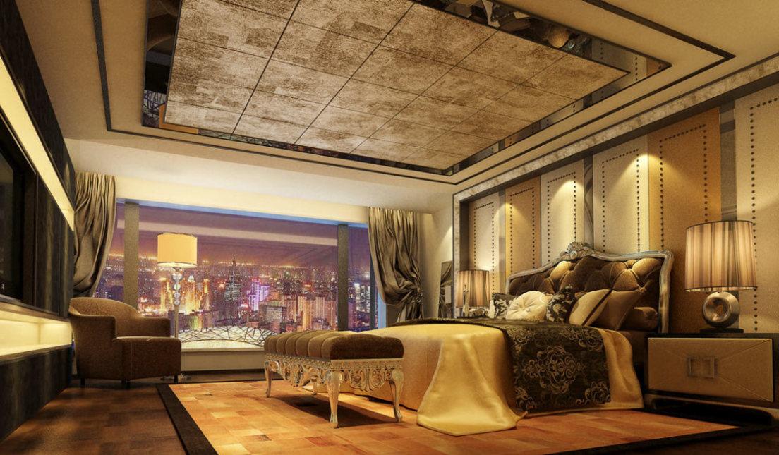 奢华风格主卧房设计图片