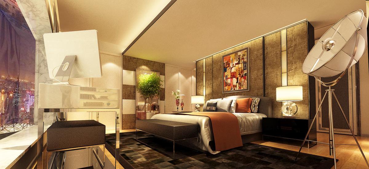 奢华风格卧房1设计图片