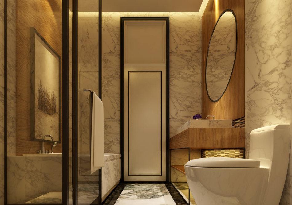 奢华风格卫浴设计图片