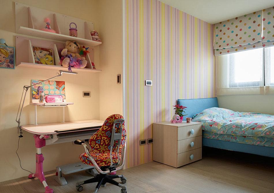 现代风格小孩房装修效果图