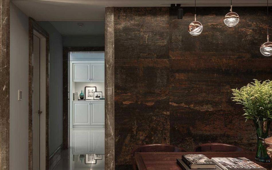 混搭风毕卡索抽象壁面装修案例