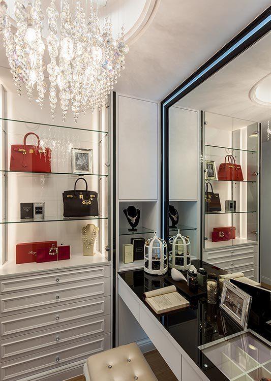 现代风格化妆室图