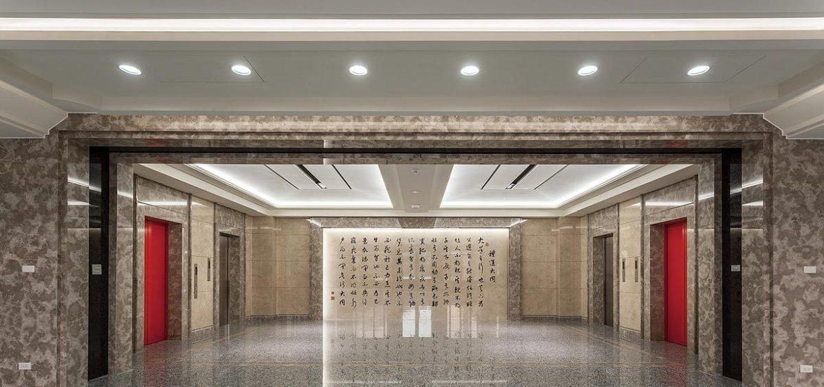 现代新古典风格接待大厅装修案例
