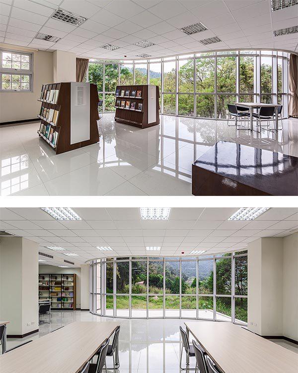 现代新古典风格图书室装修案例