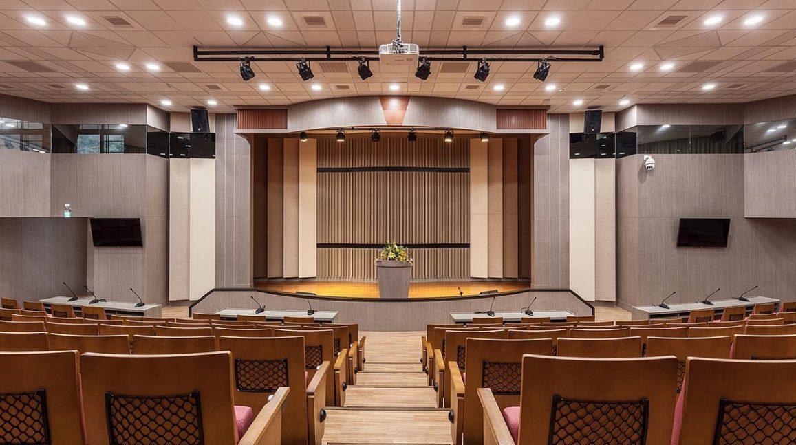 现代新古典风格国际会议厅装修案例