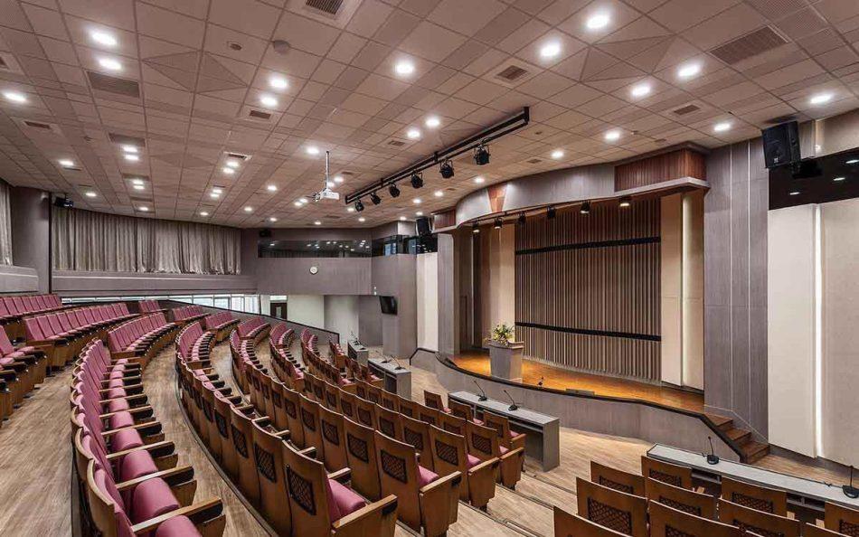 现代新古典风格会议厅内部装修案例