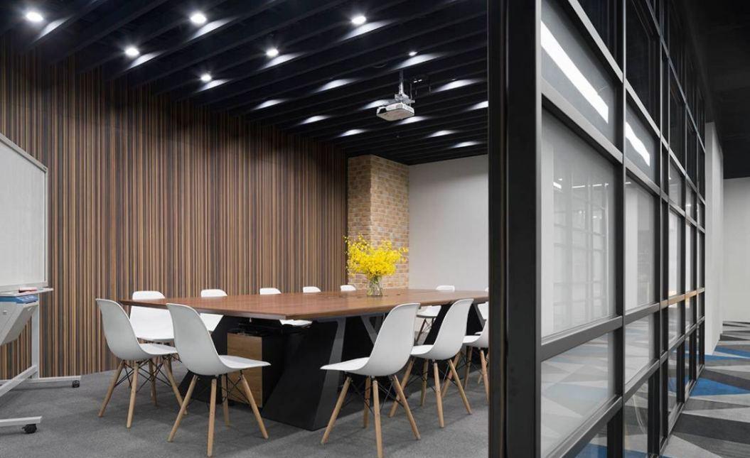 现代风格大会议室设计效果图