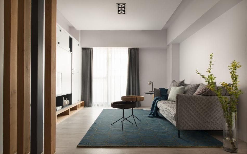 现代北欧风格客厅图