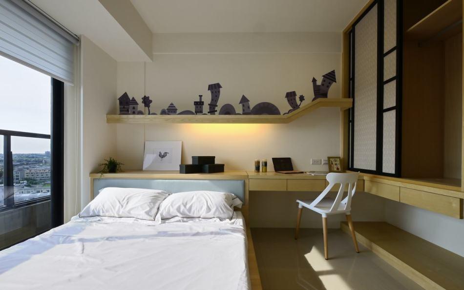 休闲多元次卧室图