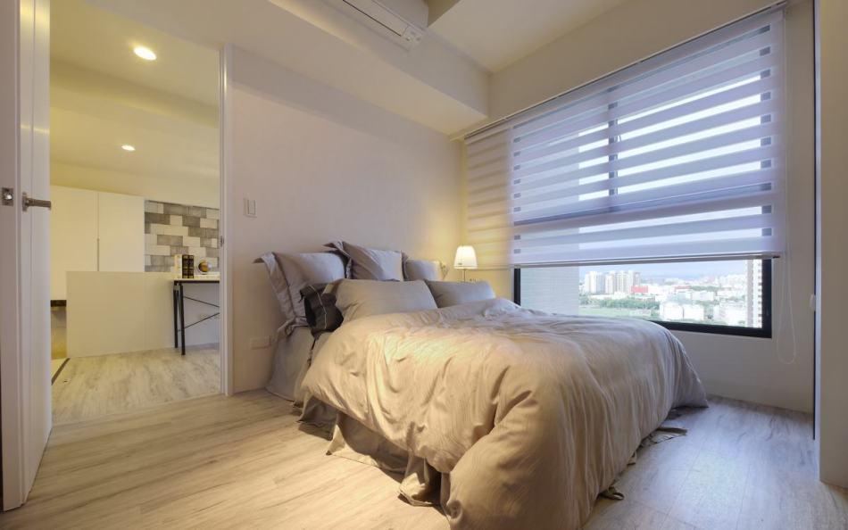 现代风格主卧室图