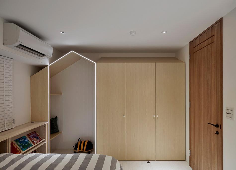 现代风格小孩房设计图片