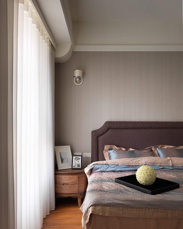 新古典卧眠区设计效果图