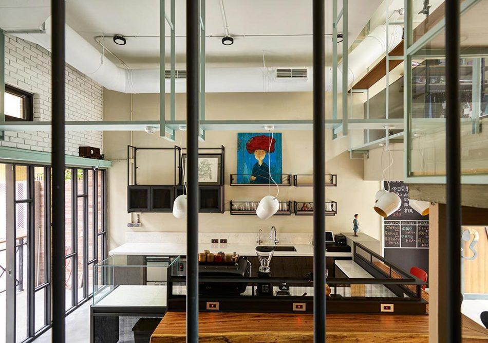 现代风格天花板装修效果图