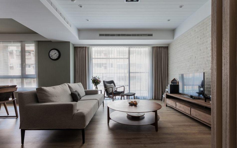 现代风格家具配置效果图