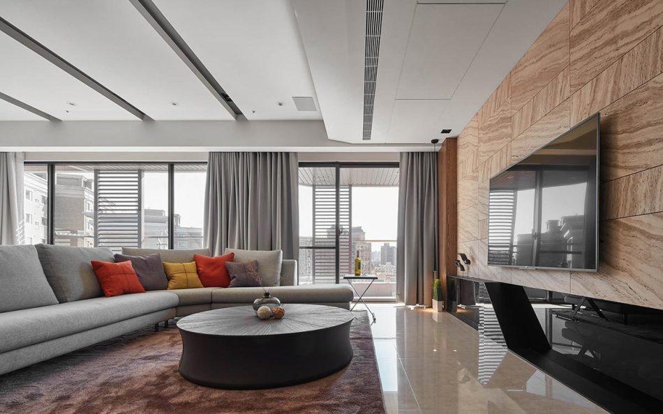现代风格客厅图片