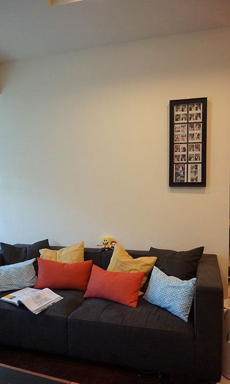 现代风格沙发区装修案例