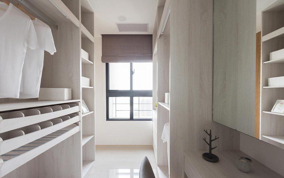 现代风格更衣室内部效果图