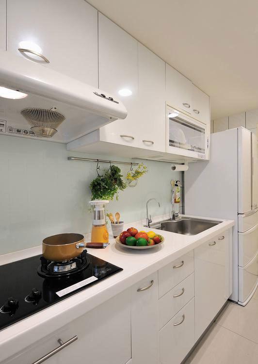 现代风格厨房图