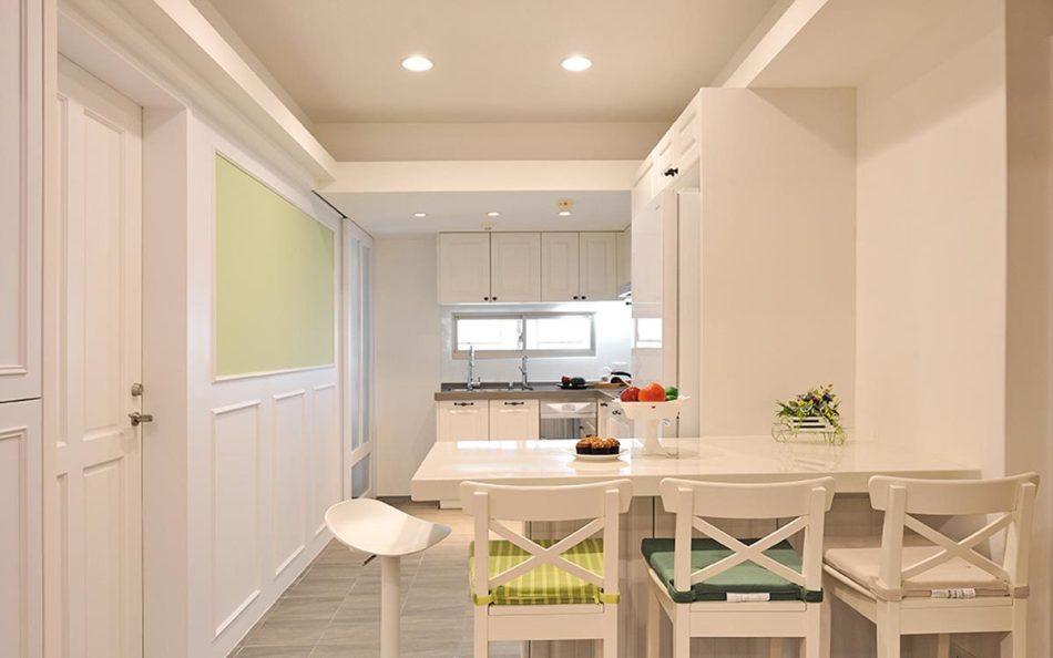 新古典餐厨空间装修图片