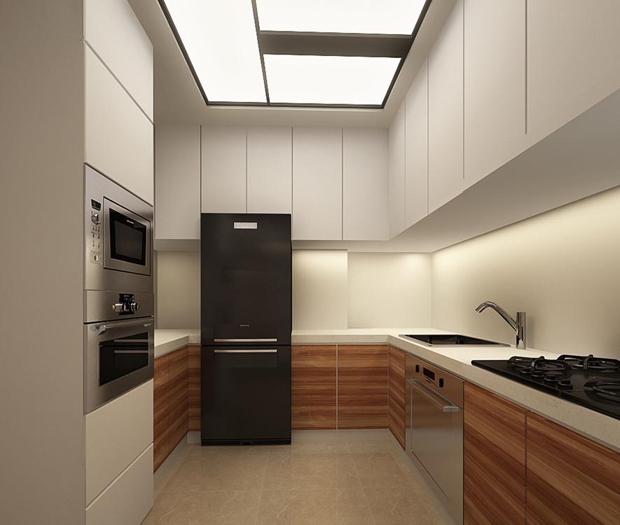 新古典厨房设计效果图