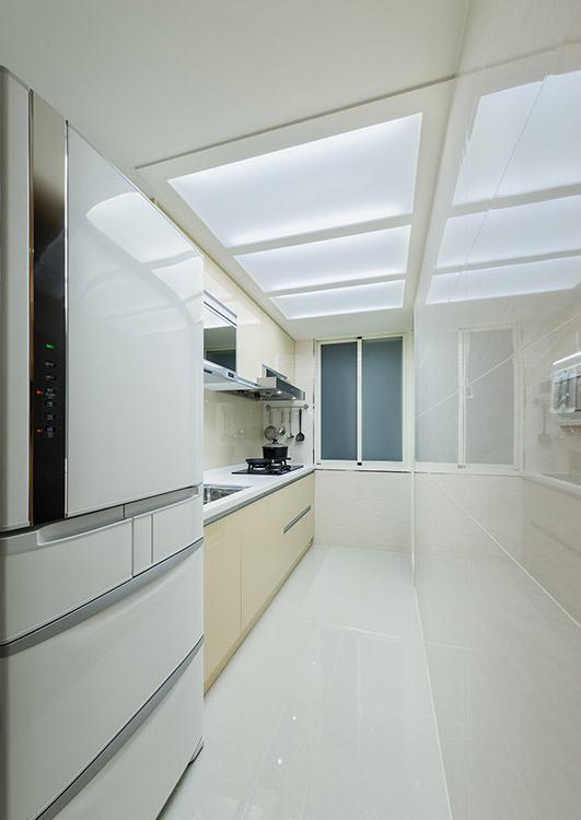 现代风格厨房装修图片