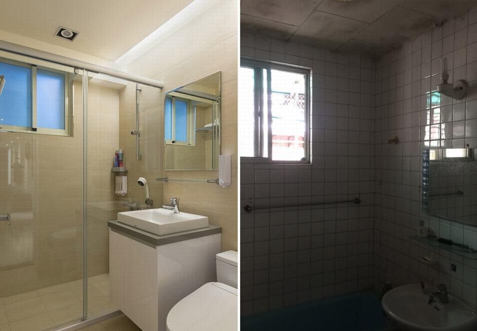 现代风格卫浴改造装修图片