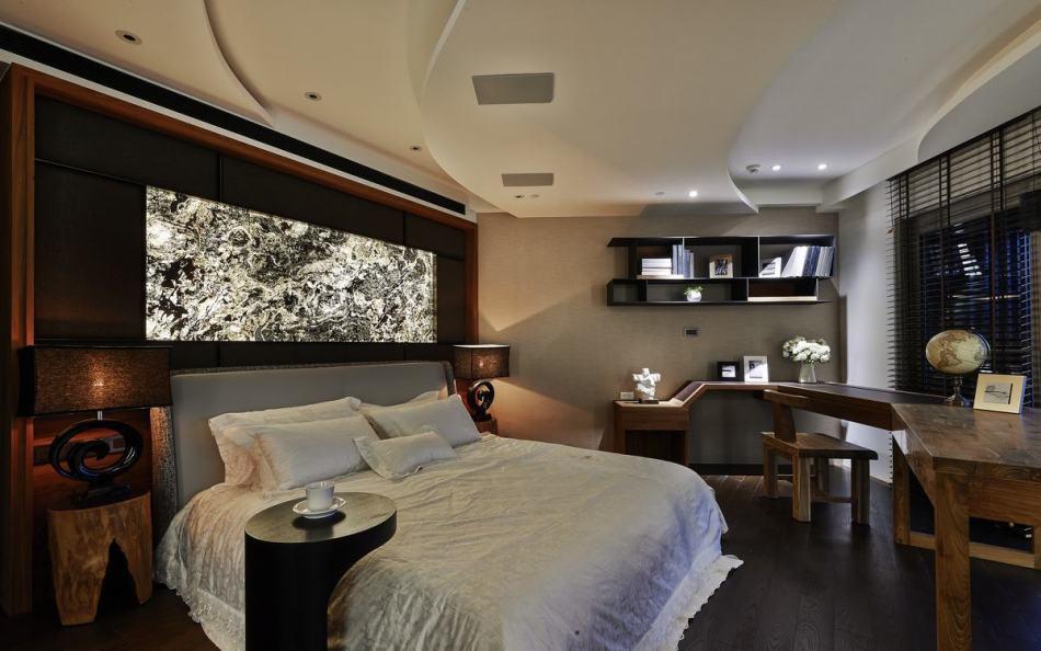 禅风主卧室设计图片