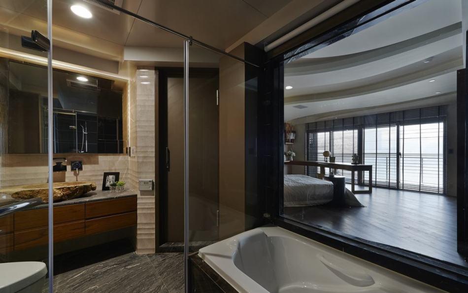 禅风卫浴设计图片
