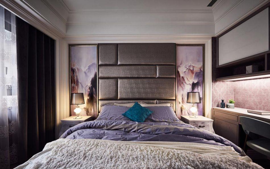 新古典主卧房装修图片