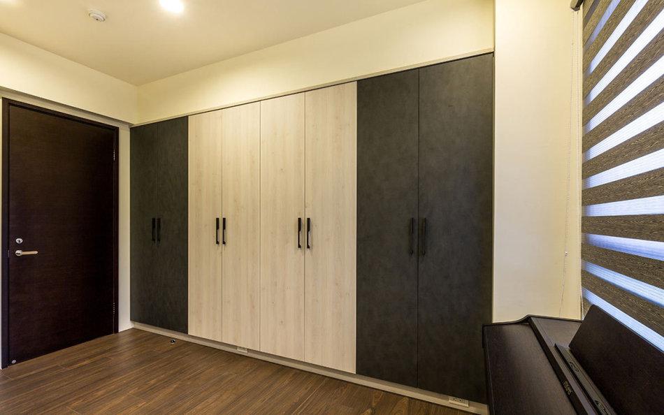 现代风格系统柜体设计效果图