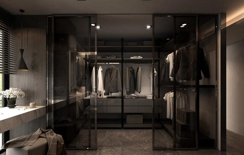 现代风格B更衣间欣赏图
