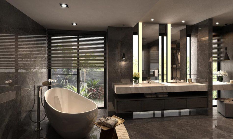 现代风格卫浴(一)欣赏图