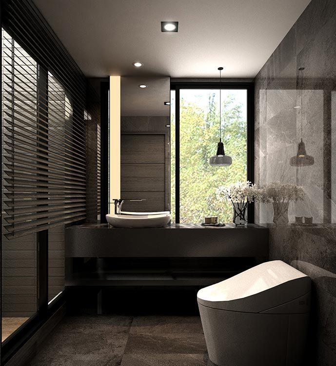 现代风格卫浴(二)欣赏图