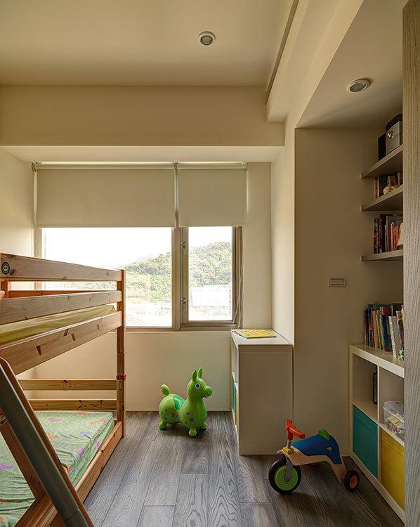 现代风格小孩房装修案例
