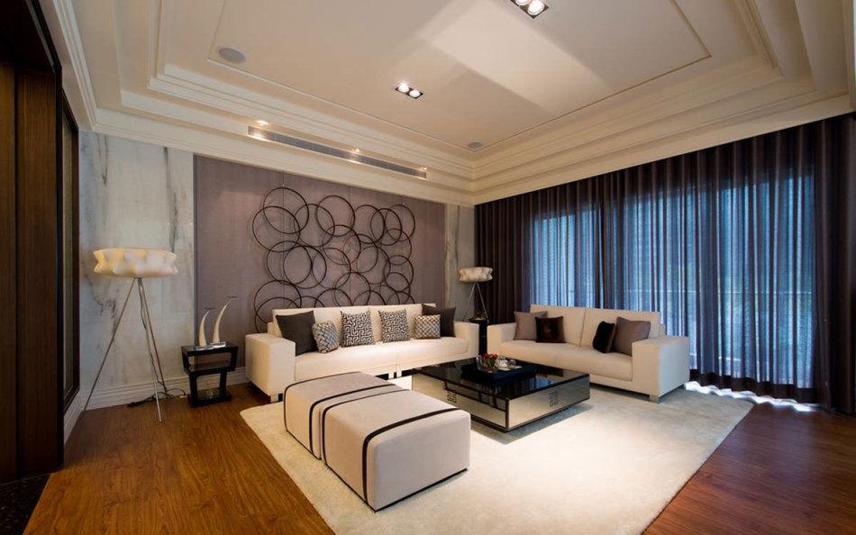 现代风格客厅图
