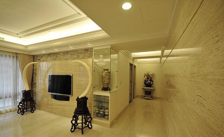 古典风格客厅主墙效果图