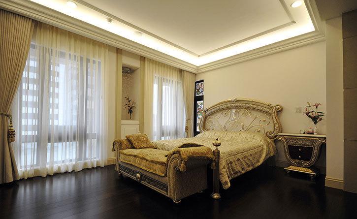 古典风格主卧室效果图