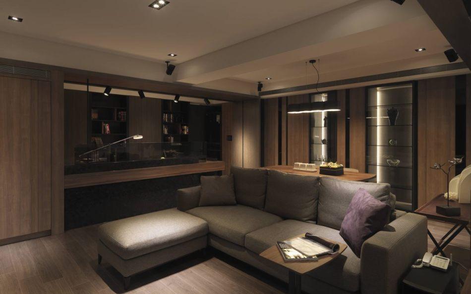 现代风格屋高与梁体设计图片
